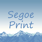 Segoe Print FlipFont icon