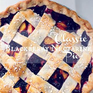 Classic Blackberry Nectarine Pie