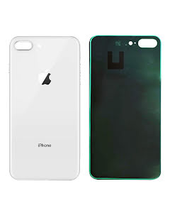 iPhone 8 Plus Back Glass White/Silver