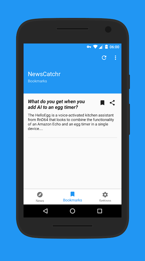 NewsCatchr - Newsreader- screenshot