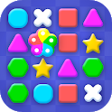 Color Match 3 - Puzzle for seniors icon