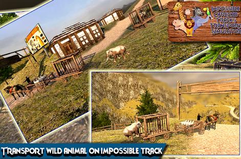 Impossible Tracks 3d Simulator : Animal Transport - náhled