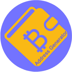 Bitcoin Address Generator - náhled