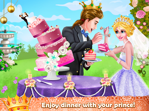 Royal Princess Wedding Makeover and Dress Up  captures d'écran 5