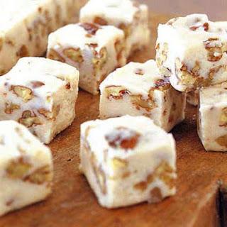Maple Pecan Fudge.