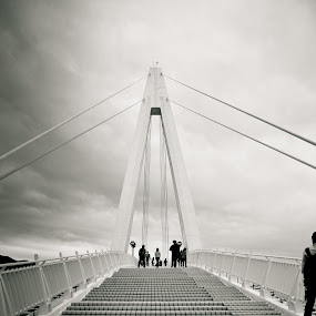 Taiwan Couple Bridge by George Ting - Buildings & Architecture Bridges & Suspended Structures