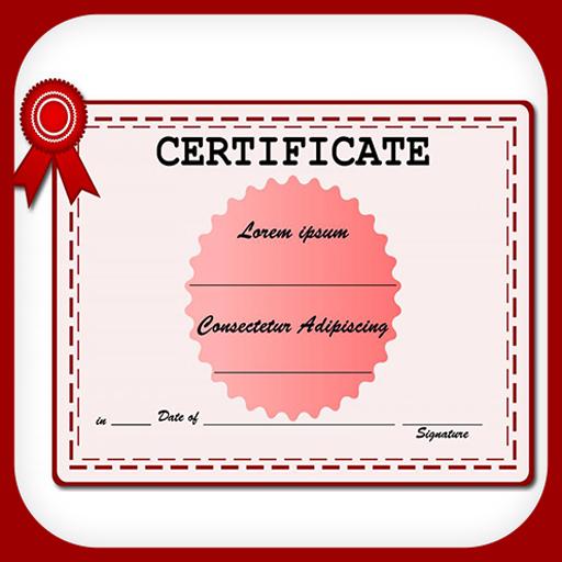 Certificate Maker Diploma etc