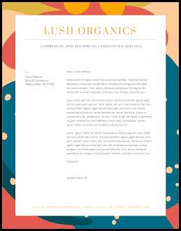 Lush Organics - Letterhead item