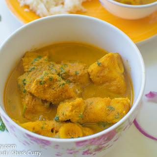 Moryechi Xacuti / Shark Curry Recipe