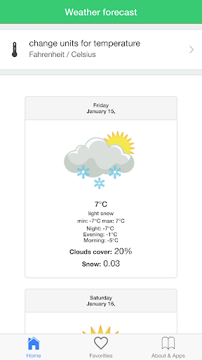 無料天气Appの旅行者のために日本の天気予報ガイド|記事Game