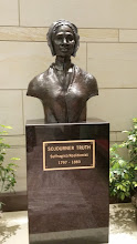 Photo: Sojourner Truth, 1797-1883. The first sculpture in the Capitol to honor an African American woman. Donated by the National Congress of Black Women, Inc in 2007 - http://www.aoc.gov/capitol-hill/busts/sojourner-truth-bust