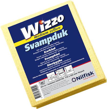 Diskduk Wizzo medium gul 10/fp