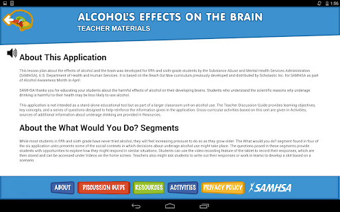 Alcohol's Effects on the Brain- screenshot thumbnail