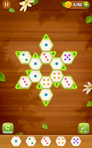 Number Puzzle Hexa - screenshot
