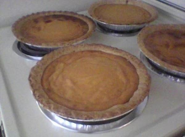 Mom's Sweet Potato Pie Recipe