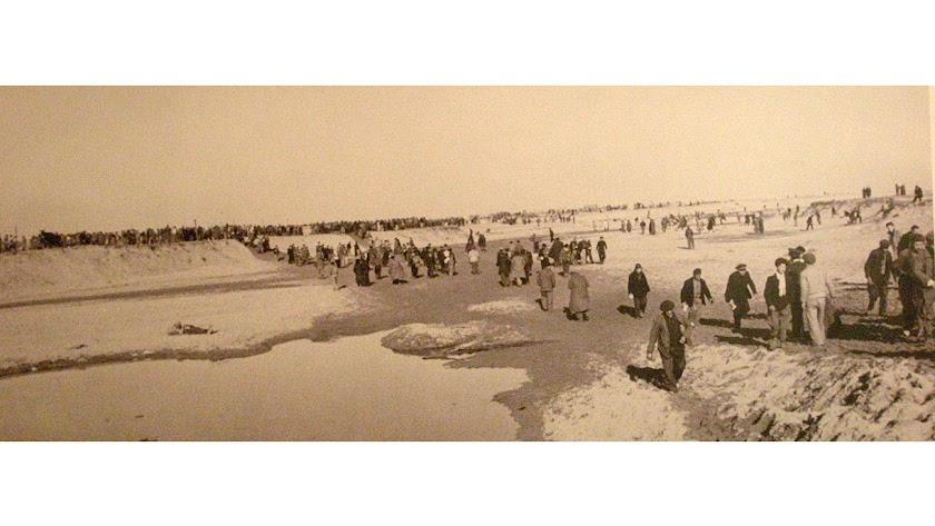 El campo de concentración de Buarfa fue el destino de muchos al llegar a Argelia.