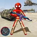 Spider Army Stickman Hero Strange Gangstar OffRoad icon