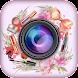 selfie美容メイクカメラ - 顔写真編集者