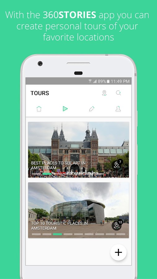 360Stories Amsterdam- screenshot