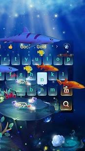 3D Ocean Aquarium Keyboard - náhled