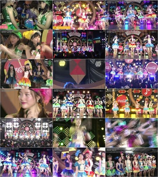 (TV-Music)(1080i+720p) SKE48 TeamE – テレビ朝日・六本木ヒルズ夏祭り SUMMER STATION 音楽LIVE 2017 171007