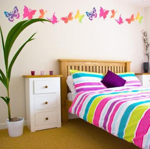 女の子のための部屋の装飾