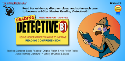 critical thinking reading detective rx The standards-based critical thinking activities of reading detective develop the analysis, synthesis, and vocabulary skills children need for exceptional reading.
