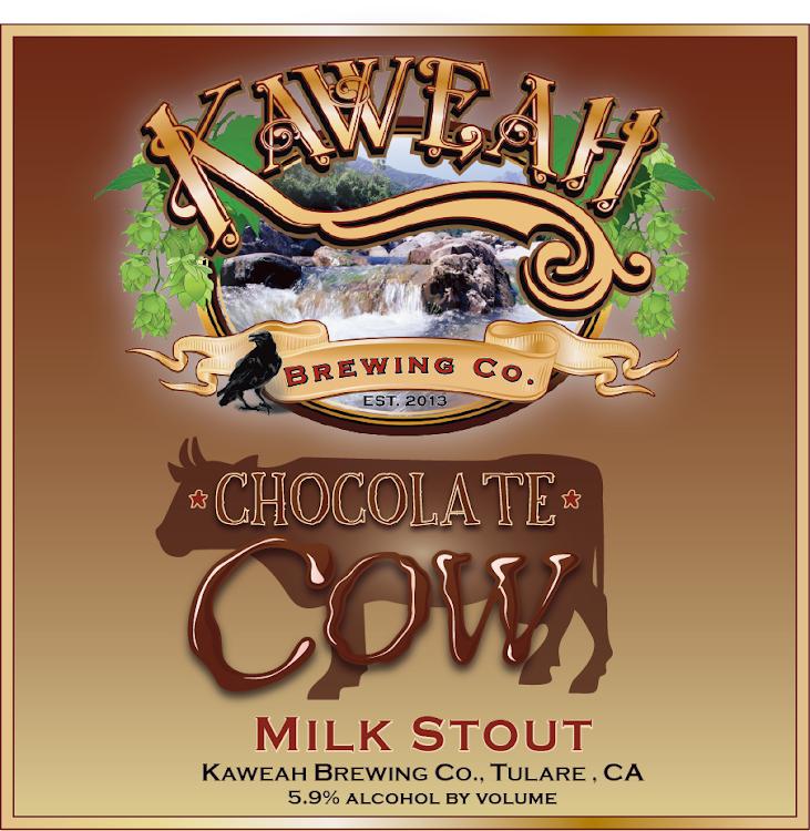 Logo of Kaweah Chocolate Cow Milk Stout