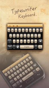 Typewriter Keyboard - náhled