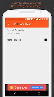 REST Api Client Android Screenshot