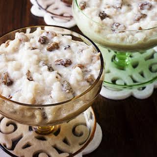Vegan Stovetop Rice Pudding.