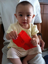 Photo: 石頭妹生日快樂...謝謝爺爺的紅包^^