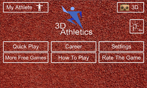 3D Athletics :Cardboard VR Sim