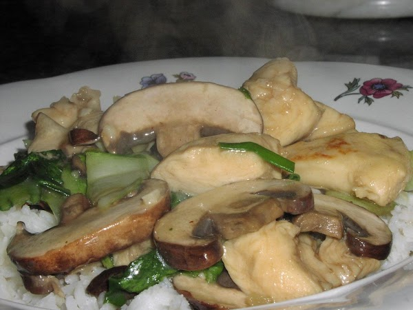 Cantonese Chicken And Mushrooms Recipe