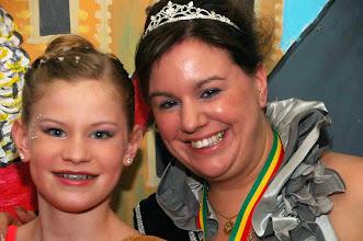 Photo: Jill en Prinses Kim 1e