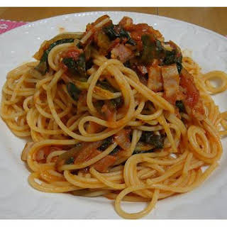 Spinach Spaghetti.