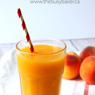 Sparkling Peach Mango Refresher
