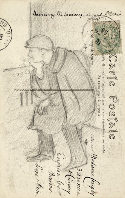 <p> <strong>L&eacute;on Coupey<br /> To Madame Coupey (Enghien les Bains)</strong><br /> Graphite on card<br /> 5 &frac12;&quot; x 3 &frac12;&quot;<br /> 1906</p> <p> Collection Chantal Coupey, Toronto<br /> Set 4.1&nbsp;</p>