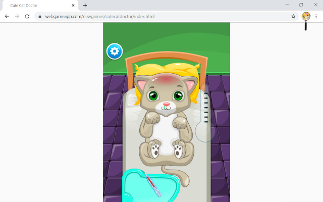 Cute Cat Doctor Game