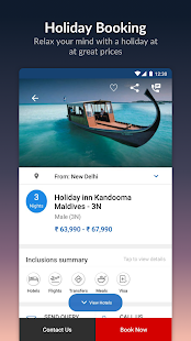 App MakeMyTrip-Flight Hotel Bus Cab IRCTC Rail Booking APK for Windows Phone