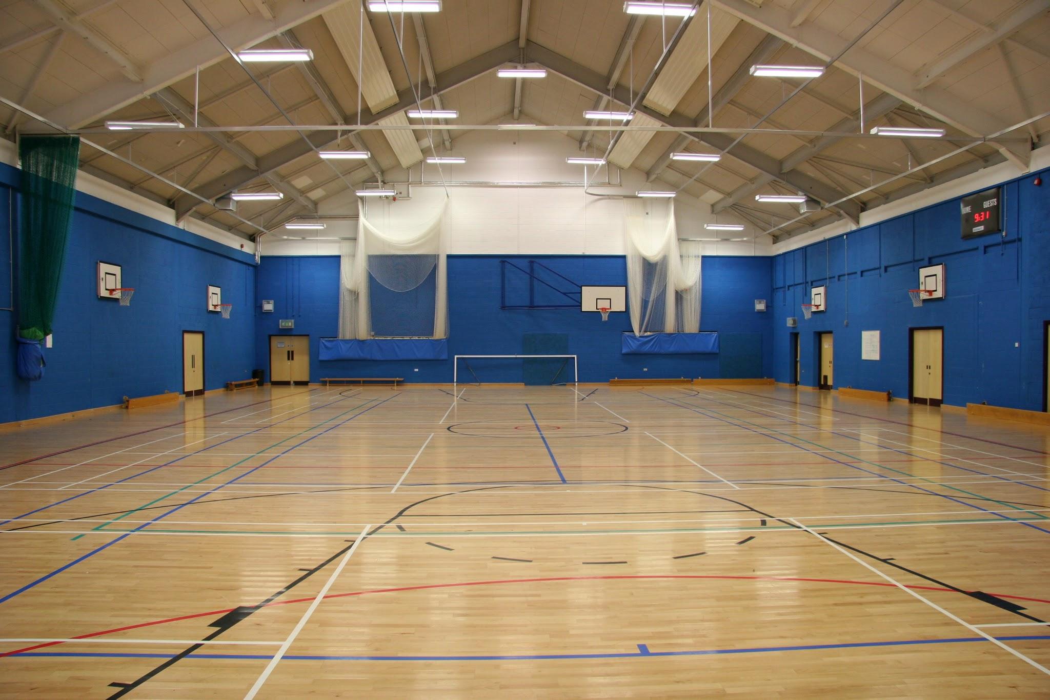 Photo: Causeway School Sports Hall, Eastbourne