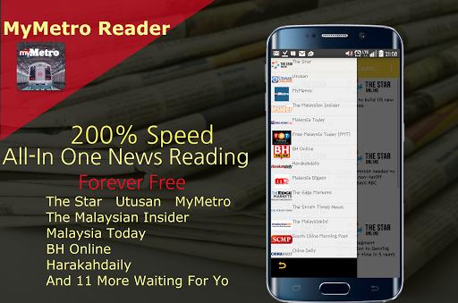 MyMetro HMetro Reader