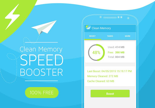 Clean Memory Speed Booster