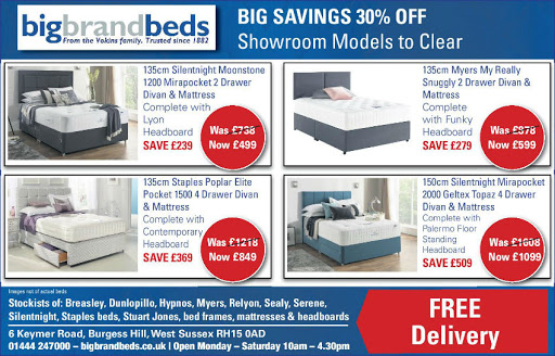 Silentnight bed offers