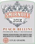 Smirnoff Peach Bellini