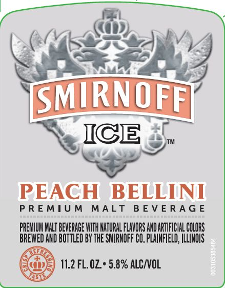 Logo of Smirnoff Peach Bellini
