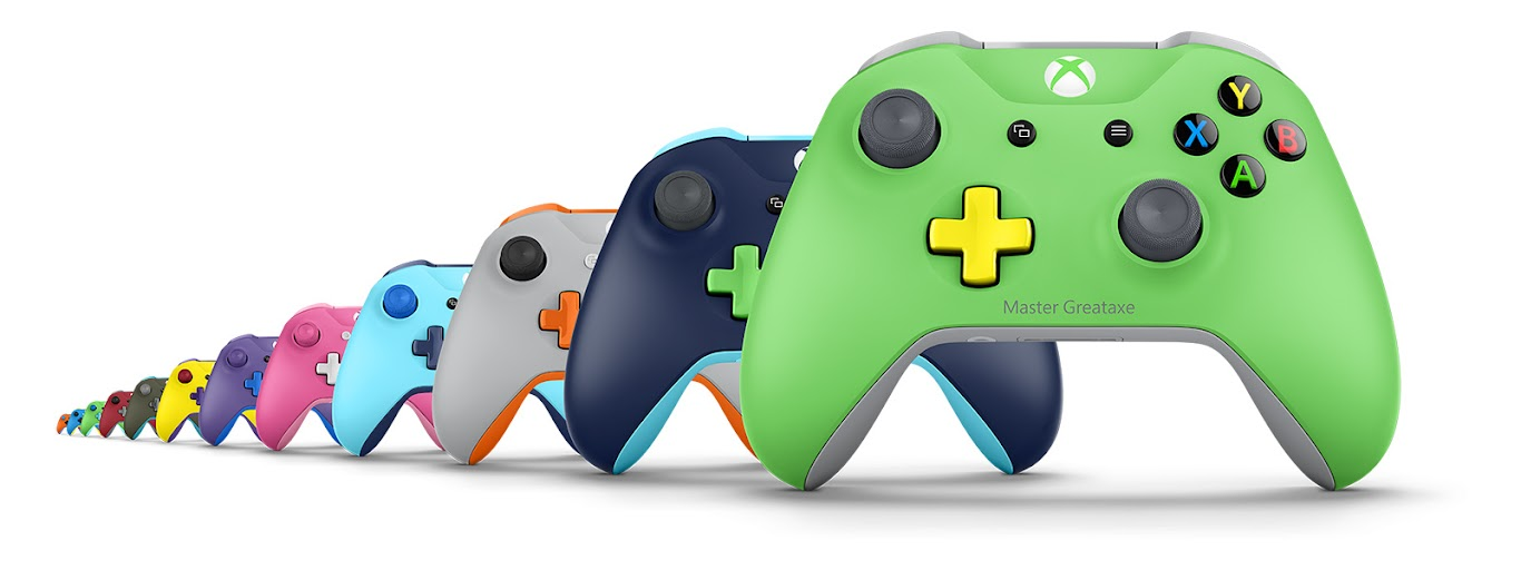 Holiday Tech for Teens - Personalized Xbox Wireless Controller - With over 8 million color combinations possible these would be a hit for the holidays.