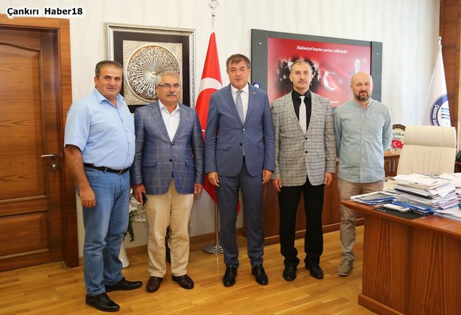 Çankırı karatekin Üniversitesi,Çankırı Üniversitesi,Rektör Hasan Ayrancı,Turgut Özkan,İsa Bölükbaşı,Muammer Uysal, Hasan Uztutan,Çankırı TÜRKAV,