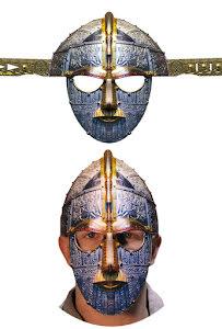 Papphjälm, anglosaxisk