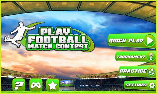 Play Football Match-Soccer 3D